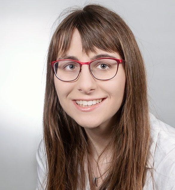 Alina Barth vom NMD-Team Frankfurt